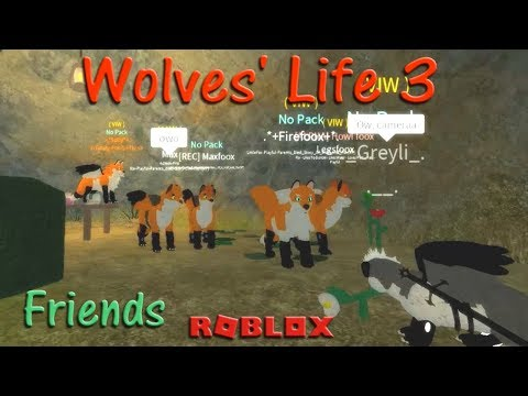Roblox - Wolves' Life 3 - Friends XI - HD