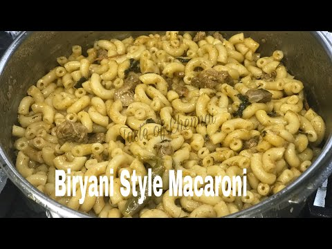 Delicious Iftar Recipe Mutton Macaroni|Biryani Style Keema Macaroni |Mutton Macaroni Recipe in Tamil