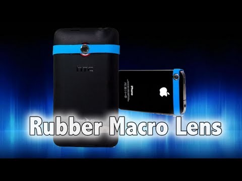 Rubber Band MACRO LENS for iPhone (Review)