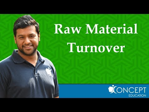 11 Raw Material Turnover