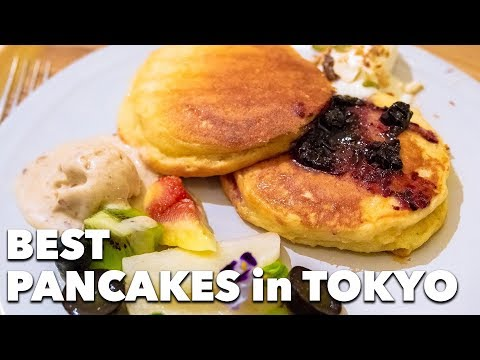 Delicious VEGAN PANCAKES in Tokyo: Ain Soph Soar | Ikebukuro, Tokyo