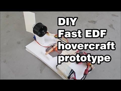 FAST DIY RC Hovercraft