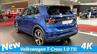 New Volkswagen T-Cross 2019 R-Line FIRST quick review in 4K (interior-exterior)
