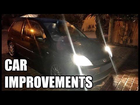 Ford Fiesta Zetec S MK6 | Headlight Upgrades