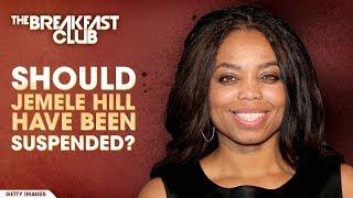 Should Jemele Hill Have Been Suspended?
