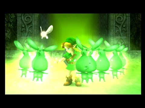 The Legend of Zelda: Majora's Mask 3D - Woodfall Temple Stray Fairy Locations
