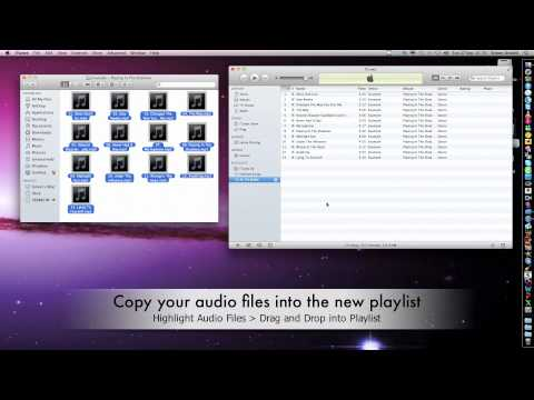 How to burn audio files to a CD on a Mac