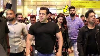 Salman Khan Gets ANGRY On Jacqueline Fernandez After Returning From Race 3 Shoot | Full Video