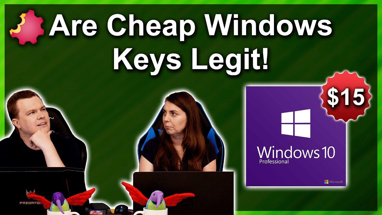 Are Cheap Windows 10 Keys Legit or Fake