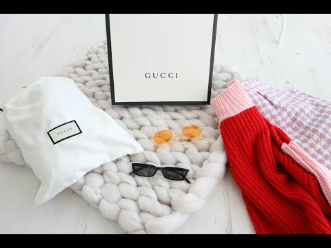 GUCCI UNBOXING & HAUL | Topshop, Asos, Mango, PLT, New Look
