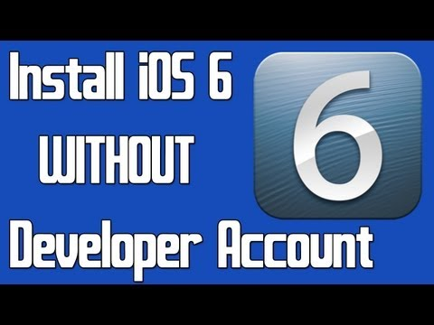 How to Install iOS 6.0 on Your iPhone/iPad/iPod Touch