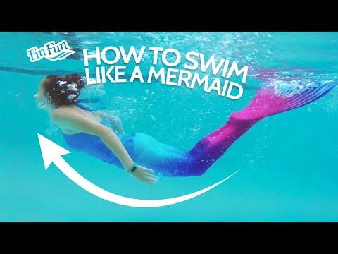 How To Swim Like A Mermaid | Fin Fun Mermaid Tails