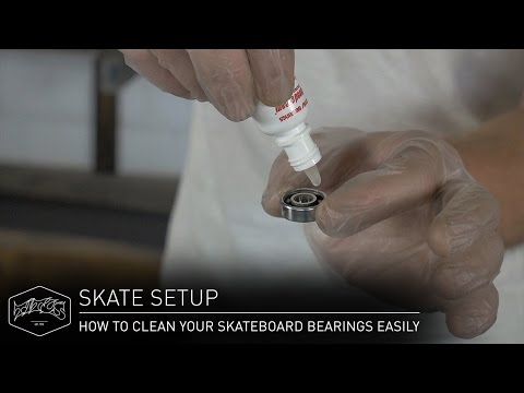 HOW TO CLEAN YOUR SKATEBOARD BEARINGS EASILY – Skate Setup | Titus