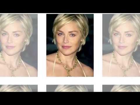 Sharon Stone Hairstyle Ideas