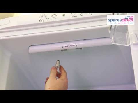 How to replace a Fridge Bulb | Oven Spares & Parts | 0800 0149 636