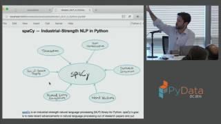 Patrick Harrison: Modern NLP in Python | PyData DC 2016