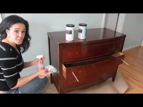 How to Paint a Dresser Using Beyond Paint - Furniture Makeovers: Thrift Diving