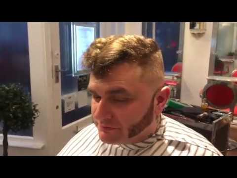 How to do a PsychoTed Hair Cut