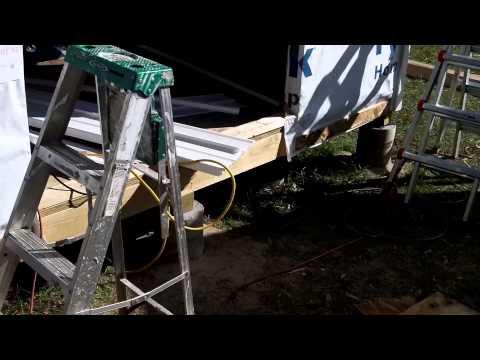 DIY Shed - Part 5 - Vinyl siding
