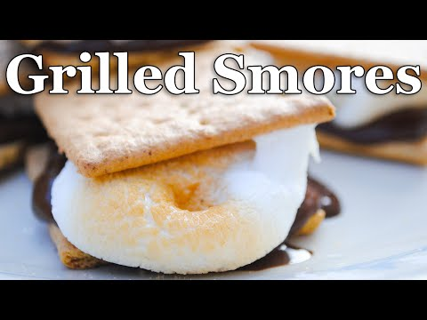 Easy Smores on a Gas Grill