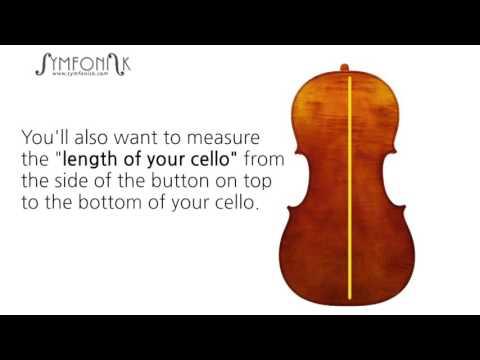 Measuring a cello before buying a cello case