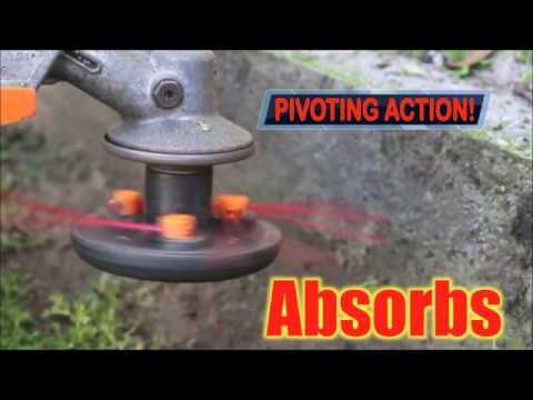 1-2-Trim - The Pivoting Gas Weed Trimmer Head - Faster Line Replacement - As Seen On TV