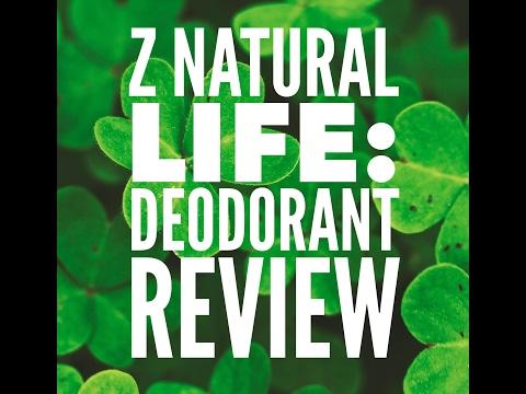 Natural Deodorant Review: Z Natural Life