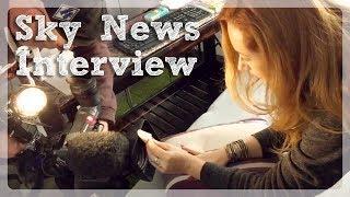 Sky News Swipe Interview & ASMR session w/ Gemma Evans