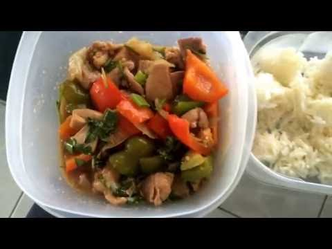 How to make stir fry chicken with teriyaki sauce and bell peppers