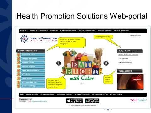 Health Promotion Solutions - Health Management & Wellness Best Practices Presentation