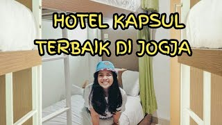 Hotel KAPSUL Keren Murah Jogja. WAKEUP HOMESTAY JOGJA