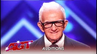 Download 84-Year-Old SHOCKS America With Age-Defying Act! WHAT?!   America's Got Talent 2019 Video