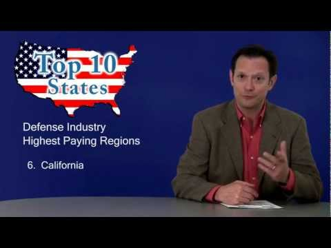 Top 10 Highest Paying States for Defense and Intelligence Jobs