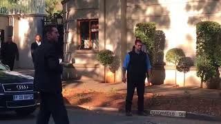 'I will f**k your face up': Gupta security threatens media