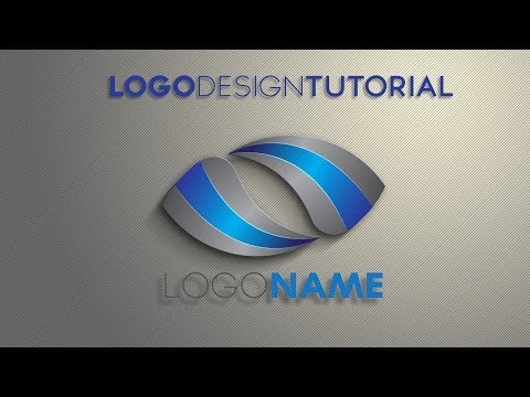 Photoshop Tutorial   Logo Design in Illustrator/ Photoshop