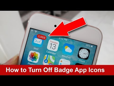 How to turn off Badge app icons for any App on iPhone