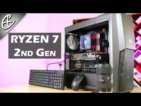 1.6L Ryzen 7 2nd Gen PC Build (w/ 1070 Ti) - Timelapse