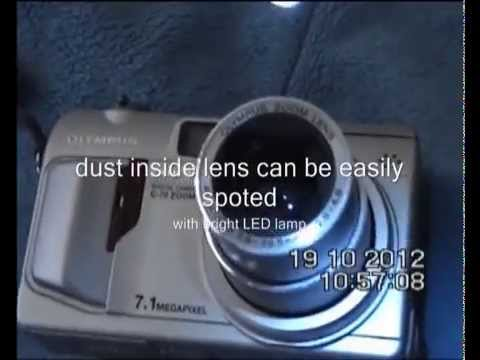 Digital Camera Express Sensor & Lens Cleaning Internal Dust Removal No Opening & No Service