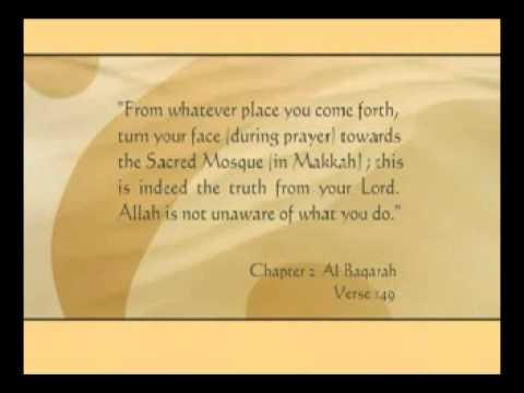 Facing Qiblah or Prayer Direction