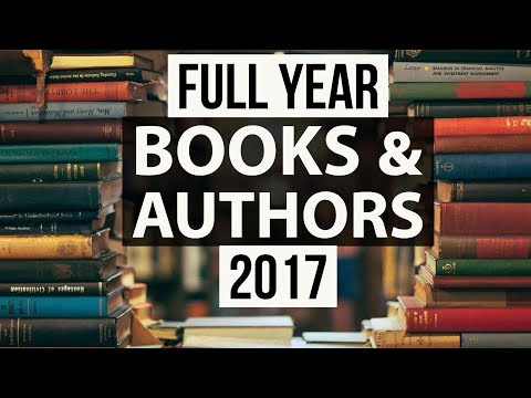 Books & Authors - Complete January to December 2017 - Current Affairs 2017 for 2018 exams