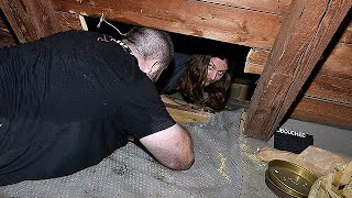 Man Finds Secret Room in Attic Filled With Items From WW2