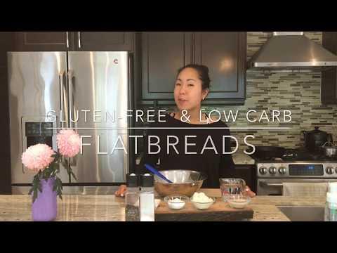 4-Ingredient Gluten-Free, Vegan-Friendly, Low Carb Flatbread Recipe