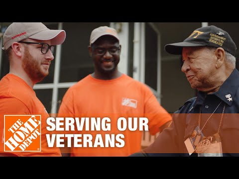 The Home Depot Serves Veterans