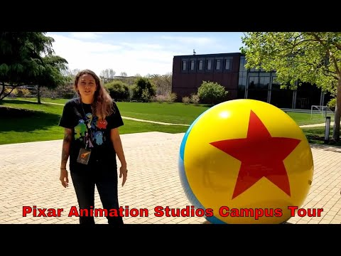 A Video Tour of the Pixar Animation Studios Campus | Learning All About Incredibles 2