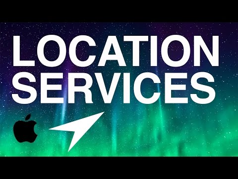 How to Turn Off/ON Location Services iPhone iPad iPod iOS 8