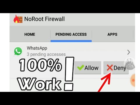 How to Turn Off WhatsApp, BBM, etc. Without Turn Off Data / Internet (no airplane mode needed)
