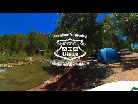 Coral Pink Sand Dunes State Park Campground Kanab Utah UT 360 VR 4k