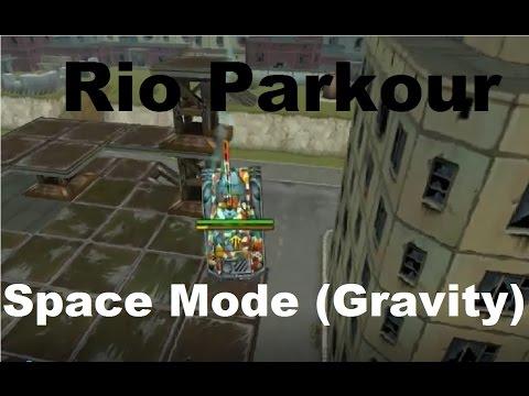 Rio Parkour (Gravity Mode) | Tanki Online
