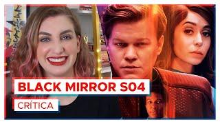 BLACK MIRROR PERDEU A QUALIDADE? 📱🐊  Crítica 4ª temporada