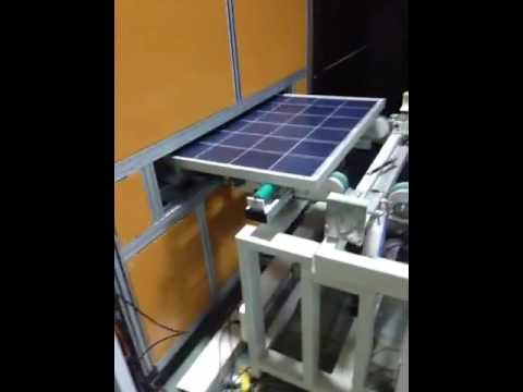 Automatic Solar Panel Testing Line